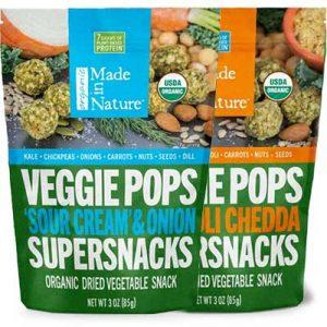 Free Made In Nature Veggie Pops Snacks