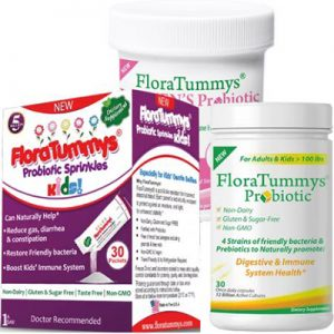 Free Samples of Probiotic from FloraTummys
