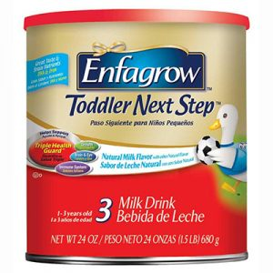 Free Sample of Enfagrow Toddler Next Step