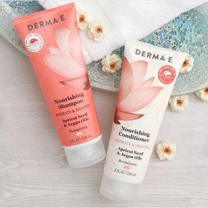 Free Derma E Shampoo and Conditioner