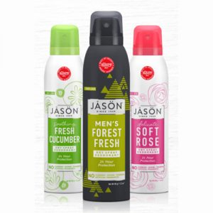 Free Jason Body Wash and Deodorant for Select Applicants