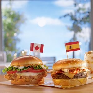 McDonald's Worldwide Favorites Menu Item For Coin