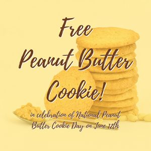 Free Peanut Butter Cookie