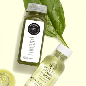 Free Superfood Facial Cleanser and Mini Greens 3 Juice