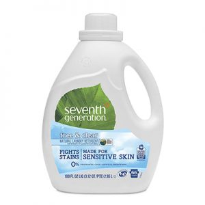 Free Seventh Generation Laundry Detergent for Testers