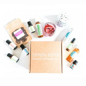 Free Simply Earth Essential Oil Recipe Box