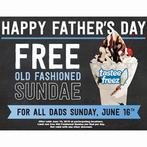Free Old-Fashioned Sundae for Dads from Wienerschnitzel