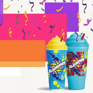 Free Slurpee from 7-Eleven on July 11