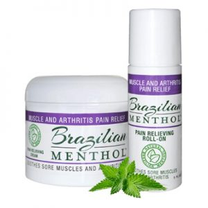 Free Sample of Brazilian Menthol Pain Relieving Product