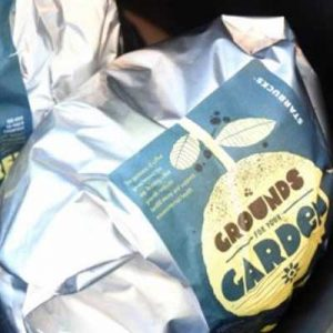 Free Bag of Coffee Grounds for Gardeners