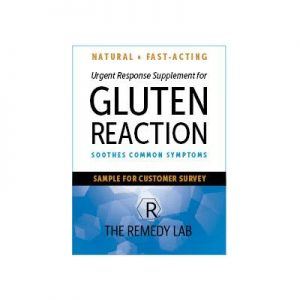 Free Supplement for Gluten Reaction