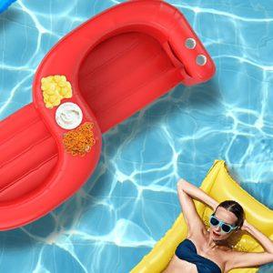 Free Heluva Good! SS Snacker Pool Float for Winners