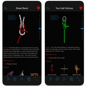 Free Knots 3D App for iOS