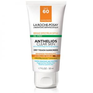 Free Anthelios Clear Skin Sunscreen SPF 60