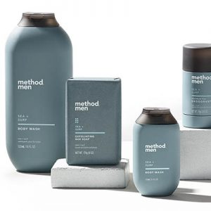 Free Method Men Body Wash, Soap, Deodorant