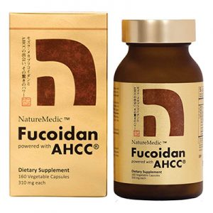Free Fucoidan Powered with AHCC Supplement