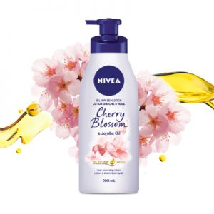 Free Sample of Nivea Oil Infused Lotion