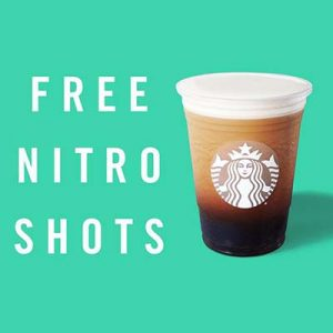 Free Nitro Cold Brew Shots at Starbucks