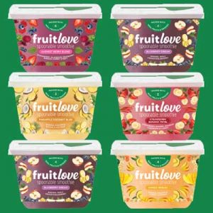 Free Fruitlove Spoonable Smoothie from Moms Meet