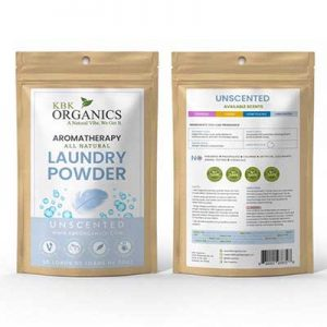 Free Sample Packets of KBK Organics Laundry Powder
