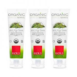 Free Radius Organic Toothpaste from Social Nature