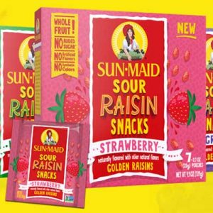 Free Pack of Sun-Maid Raisin Snacks for Winners