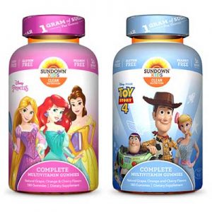 Free Sundown Kids Complete Multivitamin Gummies