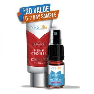 Free Sample of CBD Oil and Pain Relief Cream, Just Pay Shipping
