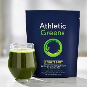 Free Athletic Greens Ultimate Daily from Moms Meet