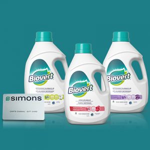 Free Biovert Cleaning Kit for Winners