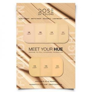 Free Foundation Sampling Cards