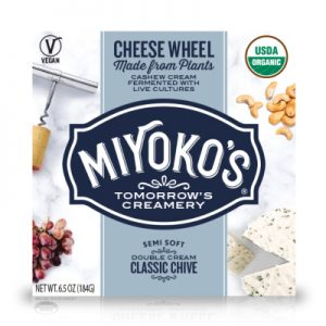 Free Miyoko's Vegan Cheese Wheel from Social Nature