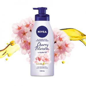 Free Nivea Oil Infused Lotion