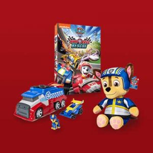 Free Toys and PAW Patrol DVD for Winners