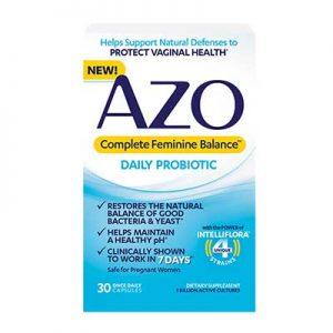 Free AZO Complete Feminine Balance Probiotics