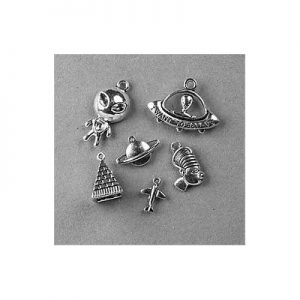 Free Ancient Aliens Charm Set, Just Pay Shipping