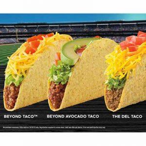 Free Taco at Del Taco