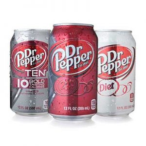 Free Dr. Pepper Products
