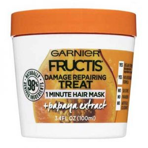 Free Garnier Fructis 1 Minute Hair Mask