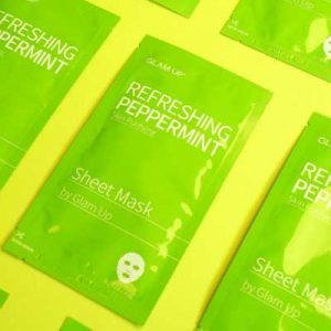 Free Peppermint Sheet Mask from 08liter