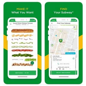 Free $6 Credit with Subway App