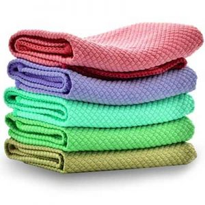Free Microfiber Cleaning Cloths