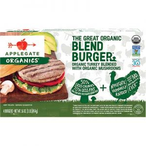 Free Applegate Organics Burger Coupon from Viewpoints