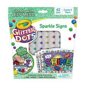 Free Crayola Glitter Dots