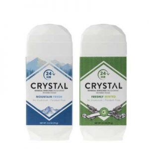 Free Crystal Natural Deodorant from Social Nature