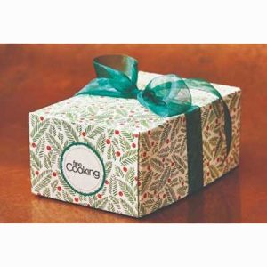Free Holiday Gift Box from Fine Cooking Magazine