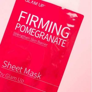 Free Pomegranate Sheet Mask from 08liter