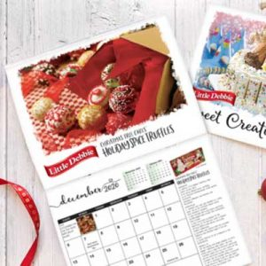Free Little Debbie Recipe 2020 Calendar for Winners