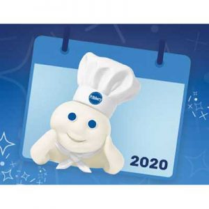 Free 2020 Pillsbury Calendar for Winners
