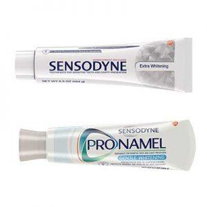 Free Sensodyne Toothpaste or CeraVe Moisturizer